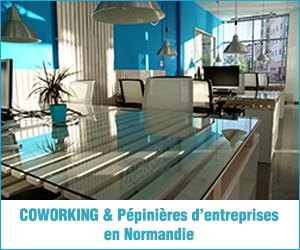 Pub carte coworking normand