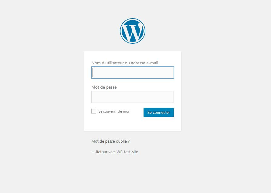 how to change the login page in wordpress