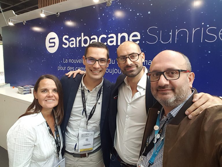 Sarbacane : Sunrise le nouvel outil de marketing digital Web (Paris Retail Week 2017)