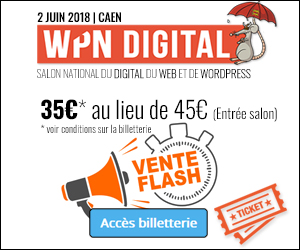 Pub WPND vente flash