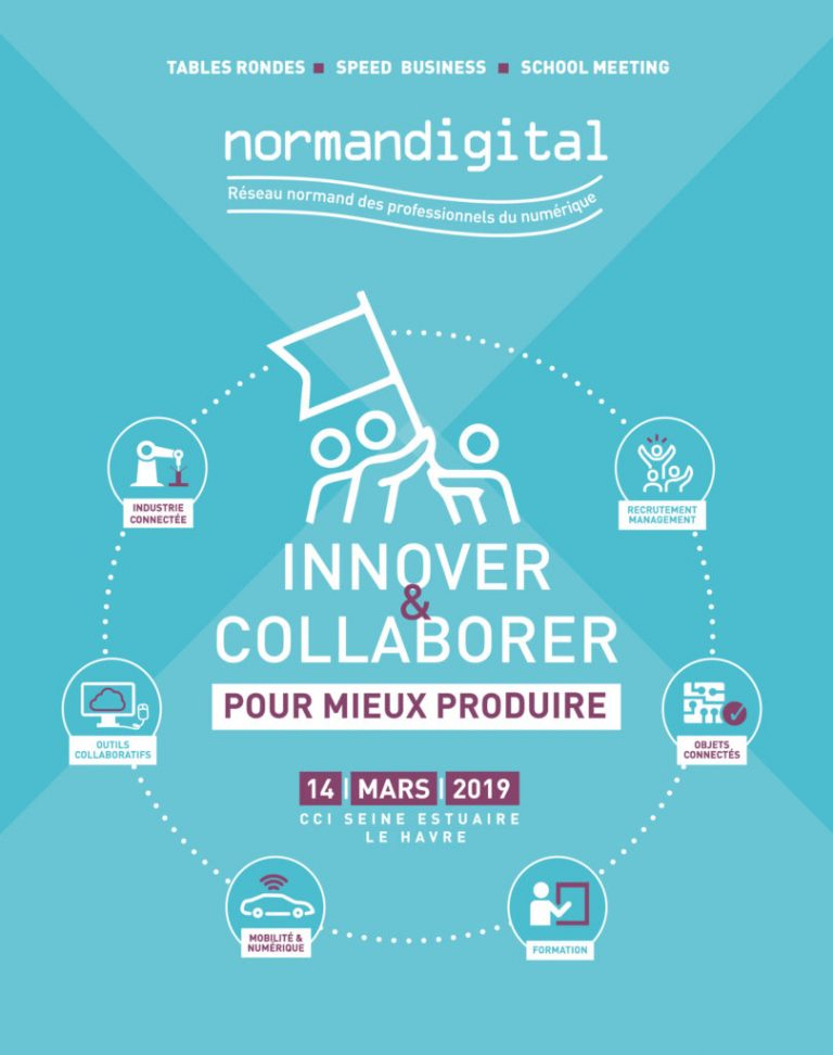 On sera demain 14/03 sur le salon NormanDigital au Havre