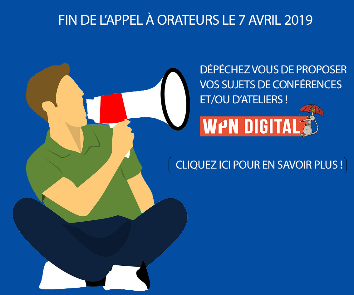 Appel orateurs WPND 2019